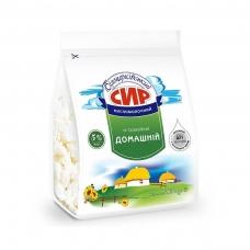 Сир кисломолочний 385 г Білоцерківський 5% п/ет