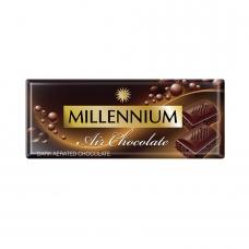 Шоколад 90г Millennium Пористий Чорний