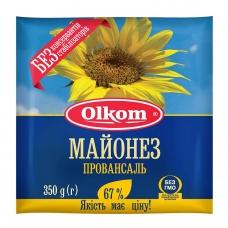 Майонез 350г Олком Провансаль столовий висококалорійний 67%