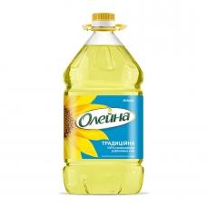 Олія 3л Олейна Традиційна Соняшникова рафінована