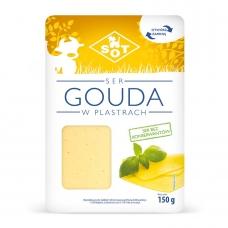 Сир напівтвердий 150г SOT Гоуда 45%