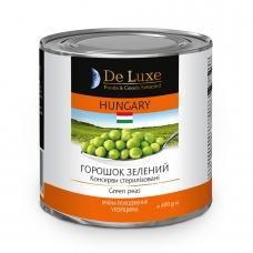 Горошок 400г De Luxe Foods&Goods Selected зелений консервований