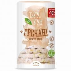 Хлібці 110 г Tasty Style хрусткі гречані м/уп